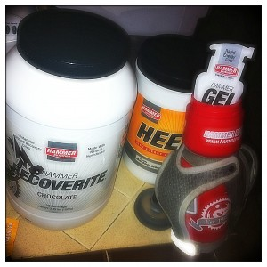 Hammer Nutrition for a marathon