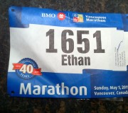 Bib Number Vancouver Marathon