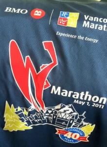 BMO Vancouver Marathon Shirts