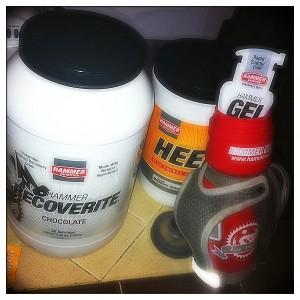 Hammer Nutrition for a marathon