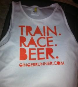 custom running singlet