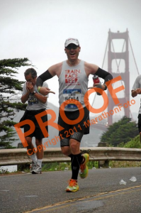 The Golden Gate Bridge, SF Marathon