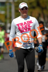 Miserable Bonk during the LA Marathon