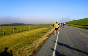Big Sur Marathon Mile 5
