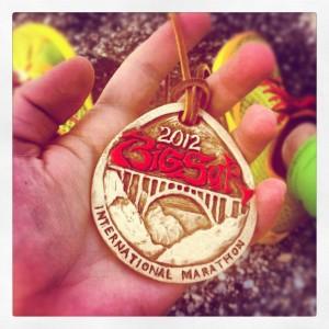 The Big Sur Marathon Medal