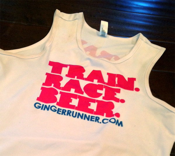 Train.Race.Beer. Singlet