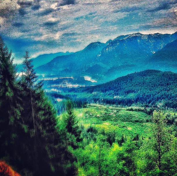 The drive up to Squamish is cool...I guess