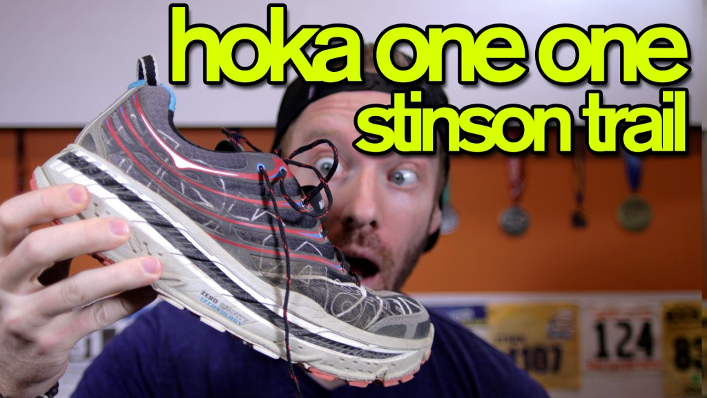 Click to watch the Hoka One One Stinson Evo Trail Review!